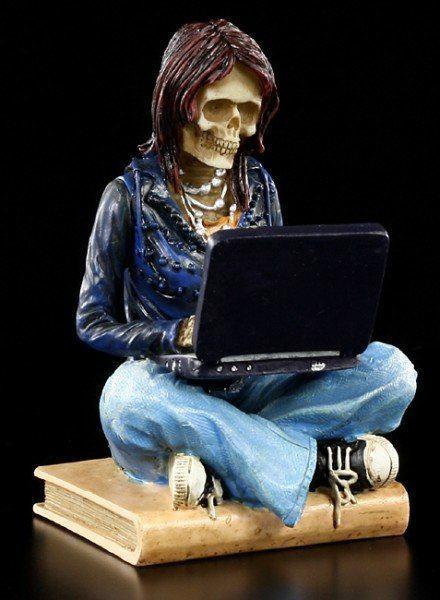 Skeleton Figurine - Surfed too long