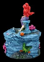 Box - Little Mermaid with red Hair