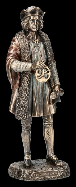 Christopher Columbus Figurine