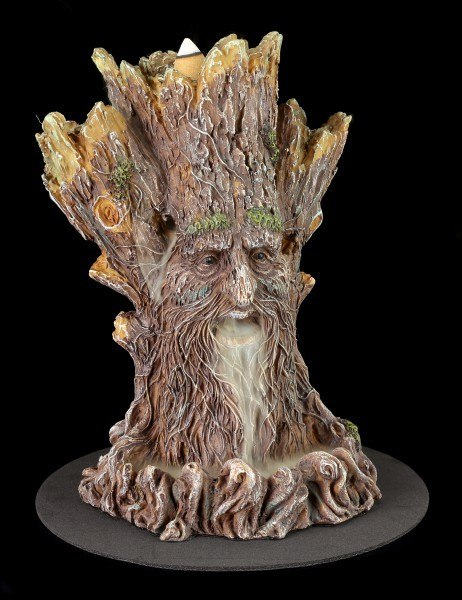 Backflow Incense Cone Burner - Tree Spirit