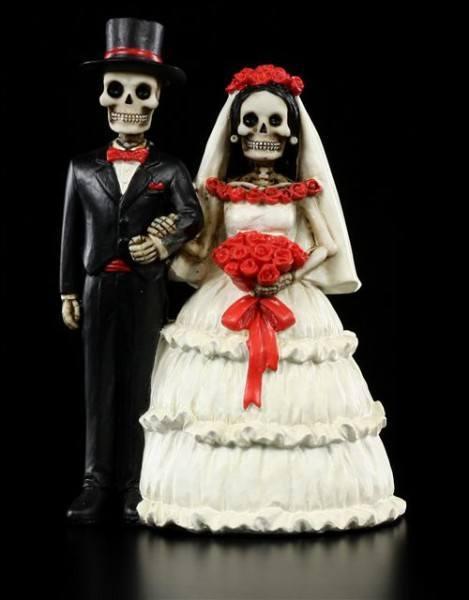 Skelett Brautpaar - Love Never Dies - Eternally Yours