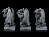 Drei kleine Drachen Figuren - Nichts Böses