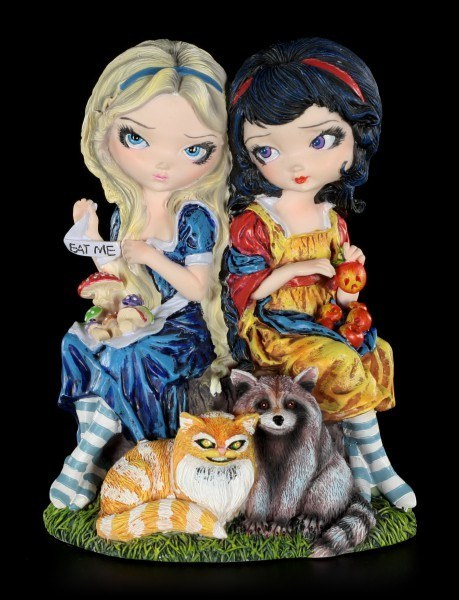 Fairy Figurine - Alice & Snow White - limited