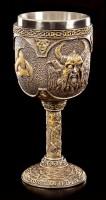 Wikinger Kelch - Nordischer Gott Odin