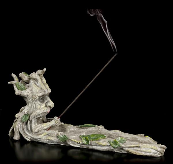 Räucherstäbchenhalter - Greenman Baum