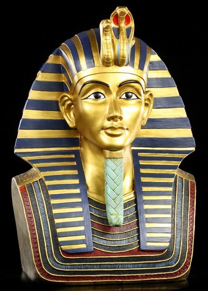Tutankhamen Bust - large