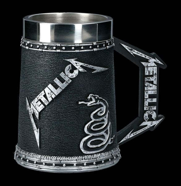 Metallica Tankard - The Black Album