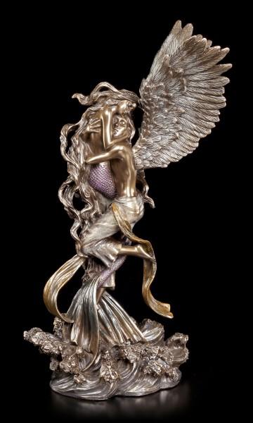 Engel Figur mit Meerjungfrau - Impossible Love