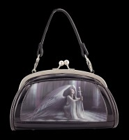 Lack Abend-Handtasche mit 3D Motiv - The Blessing