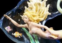 Meerjungfrauen Figur - Heart of the Ocean