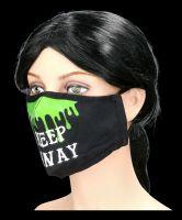 Gesichtsmaske - Keep Away