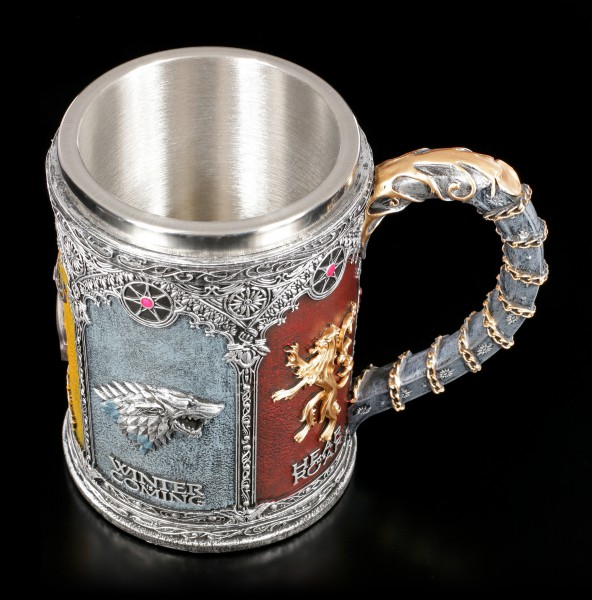 Game of Thrones Tankard - Sigils of the Houses