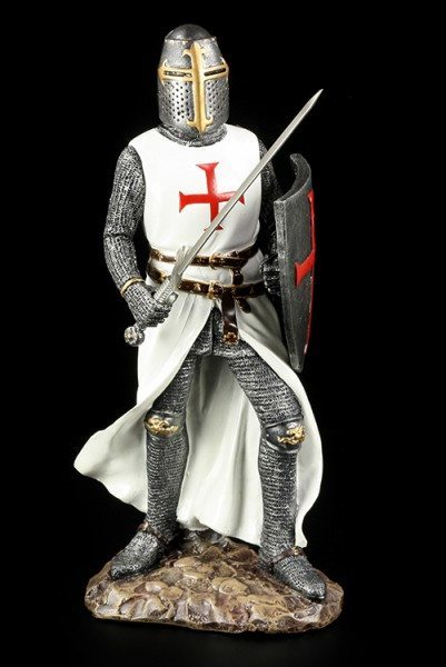 Crusader with Sword