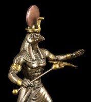 Egypt God Ra Figurine - bronze