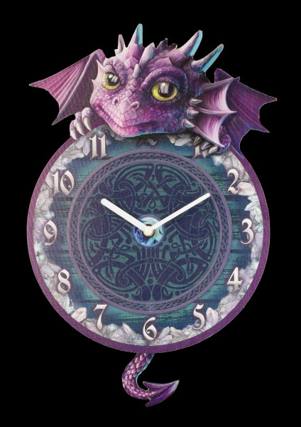Wall Clock - Dragon Tickin