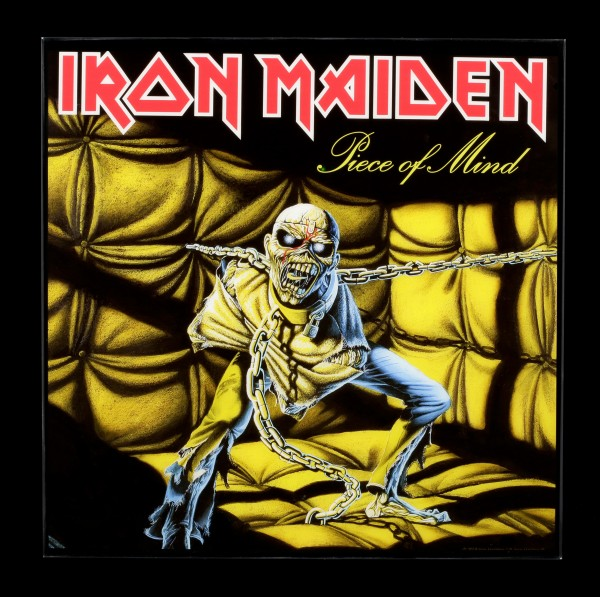 Iron Maiden Hochglanz Bild - Piece of Mind