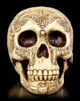 Totenkopf mit Altägyptischen Verzierungen