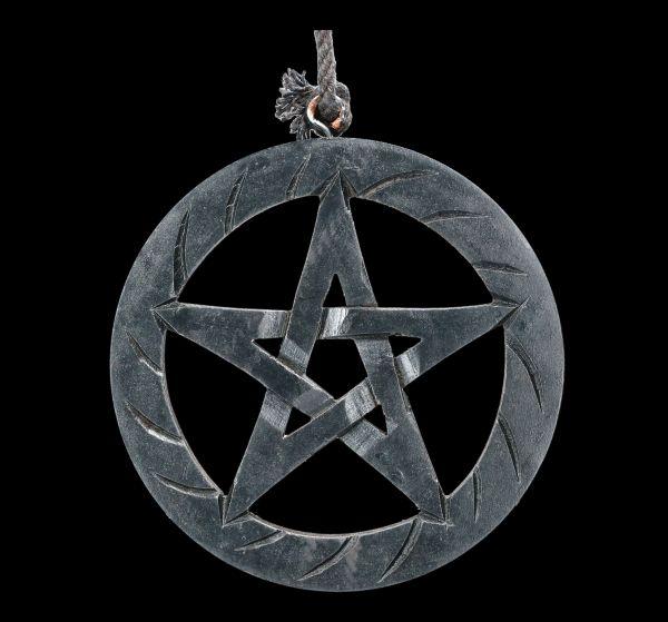Wall Decoration - Black Pentagram