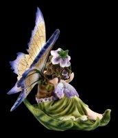 Elfen Figur - Liriel auf Blatt mit Baby
