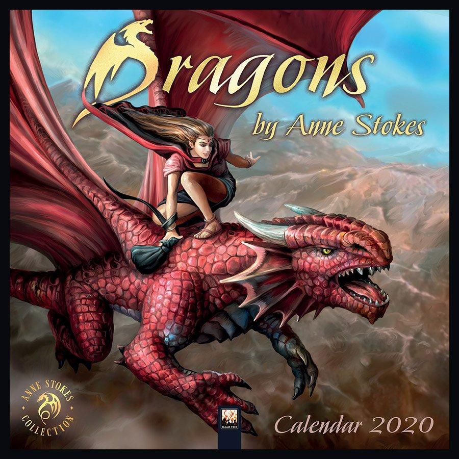Anne Stokes Kalender 2020 - Drachen