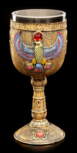 Goblet - Egyptian God Horus