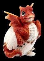 Drachen Figur - Ruby Hatchling