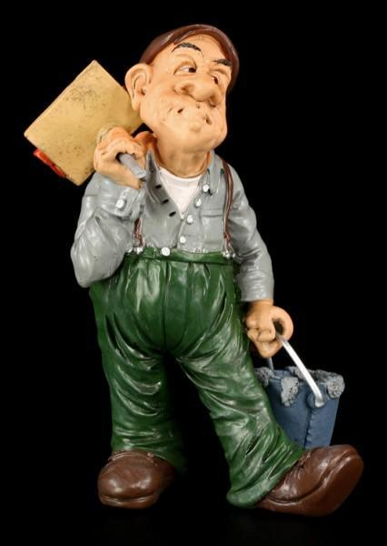 Bricklayer - Funny Job Figurine