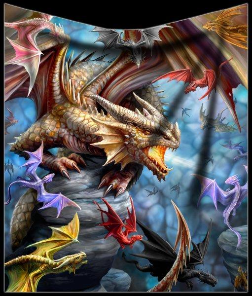 Fleece Blanket - Dragon Clan