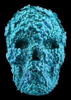 Totenkopf mit Blüten - Azure Afterlife