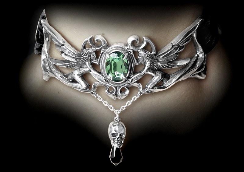 La Fleur de Baudelaire Choker - Alchemy Gothic Choker
