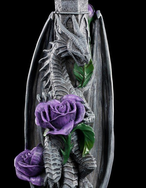 Drachen Kerzenhalter - Dragon Beauty - Anne Stokes