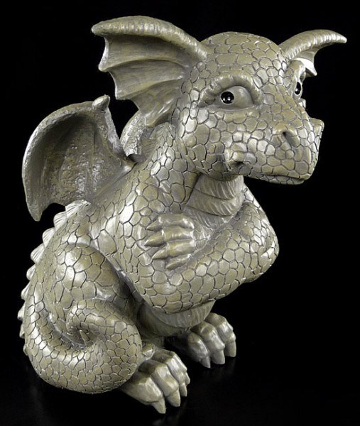 Outdoor Statue - Offended Dragon