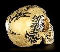 Skull - Celtic Tribal Design