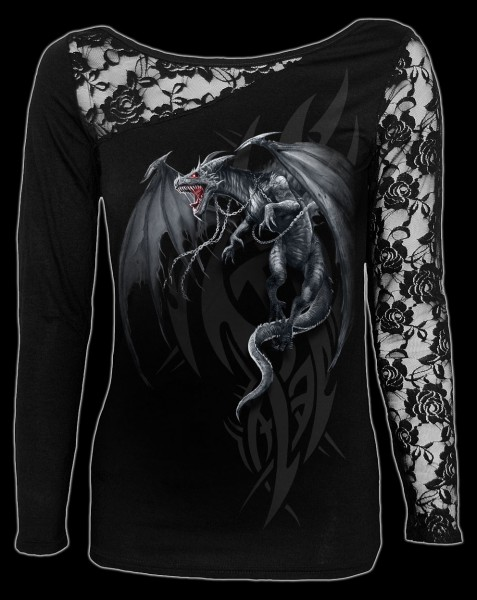 Dragon's Cry - Fantasy Lace Longsleeve