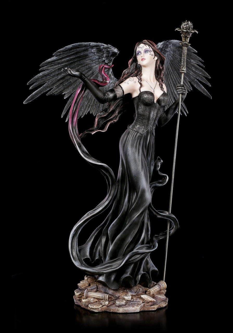 Dark Angel Figurine - Falia with Scepter