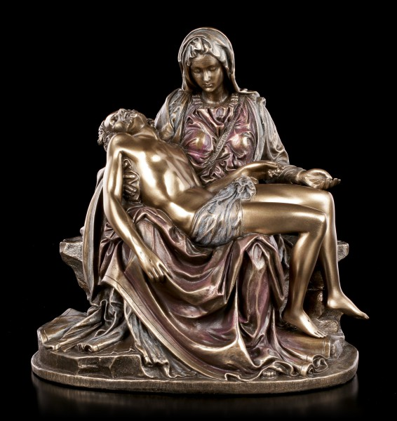 Pieta Figurine - Mary with Jesus small