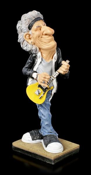 Funny Job Figurine - Guitarist with yellow Guitar