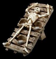 Skeleton Candle Holder - Rack