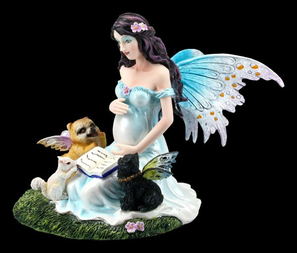 Pregnant Fairy Figurine - Mothers Love