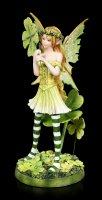 Fairy Figurine - Tanja with four-leaf Clover