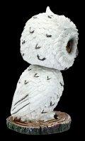 Wackelkopf Figur - Eule Feather