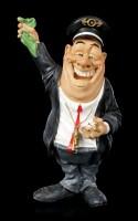 Funny Job Figurine - Railroad Conductor