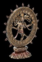 Shiva Figurine as Nataraja - in the Circle of Flames