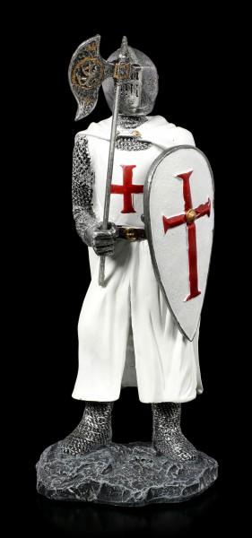 German Templar Knight Figurine - Ready for Fight