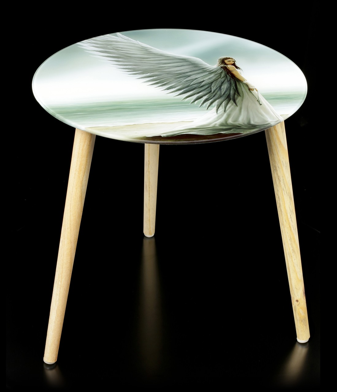 Side Table with Angel - Spirit Guide
