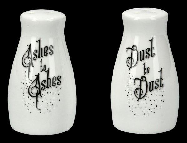Salz- und Pfefferstreuer - Ashes to Ashes