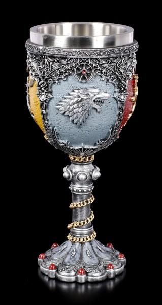 Game of Thrones Kelch - Siegel der großen Häuser