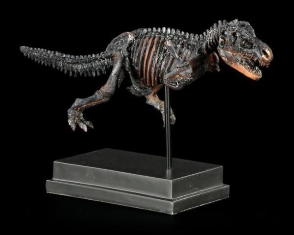 Dinosaurier Figur - Tyrannosaurus Rex auf Sockel