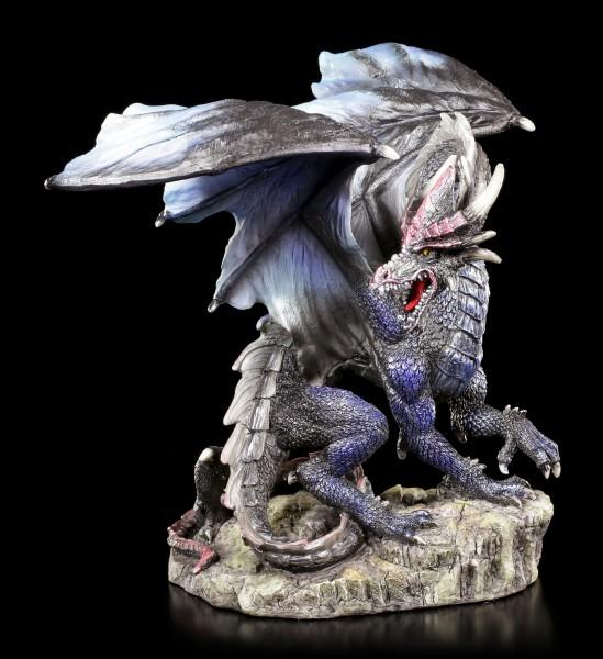 Drachen Figur - Blue Furor