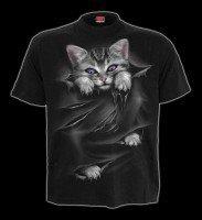 T-Shirt Fantasy mit Katze - Bright Eyes
